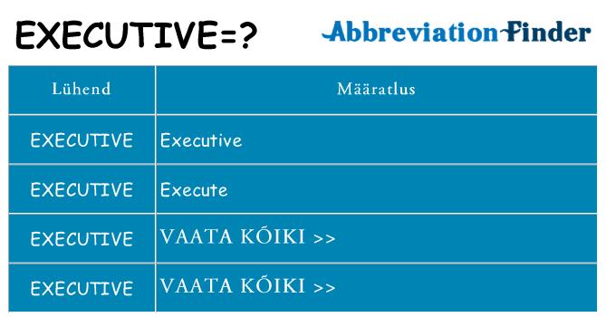 Mida executive seista