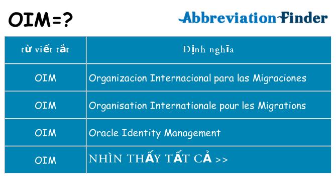 Oim Là Gì ? Oracle Identity Management