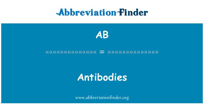 AB: Antistoffer