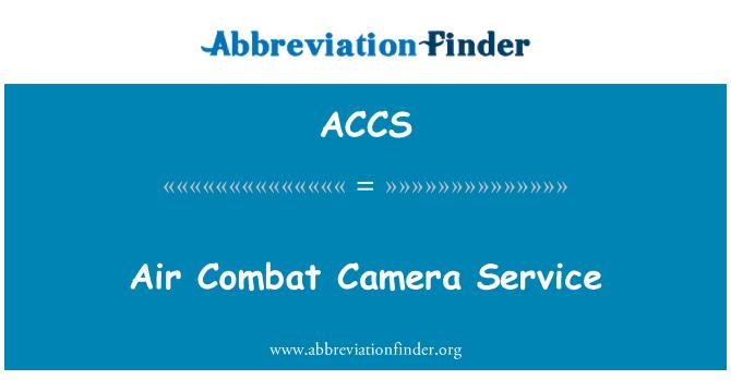 ACCS: Air Combat Camera Service