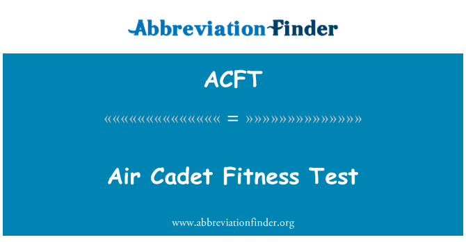 ACFT: Õhu kadett Fitness Test