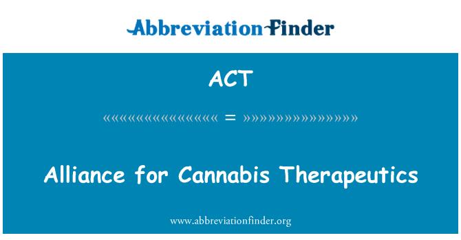 ACT: 大麻治療聯盟