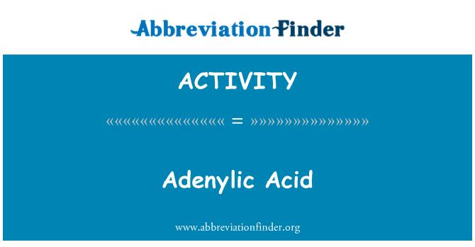 %26%23197%3B: Asid Adenylic