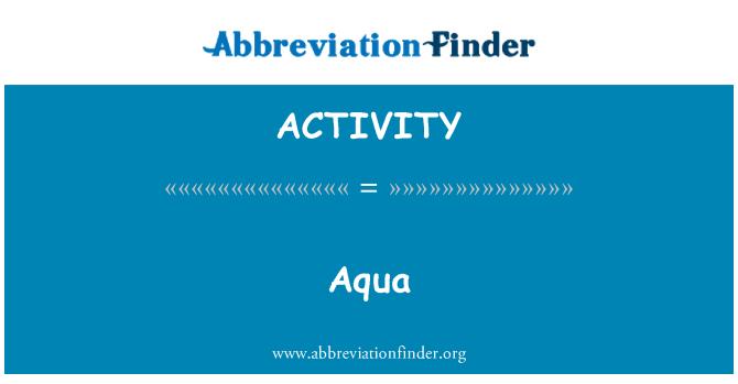 %26%23197%3B: Aqua