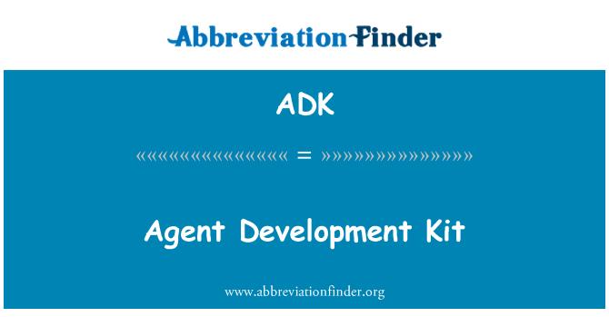 ADK: Agent Development Kit