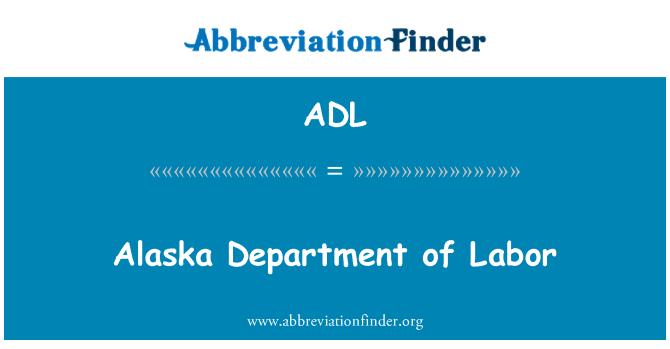 ADL: Alaska Department of Labor