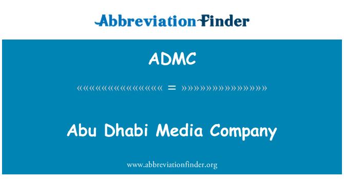 ADMC: Abu Dabi medya şirketi