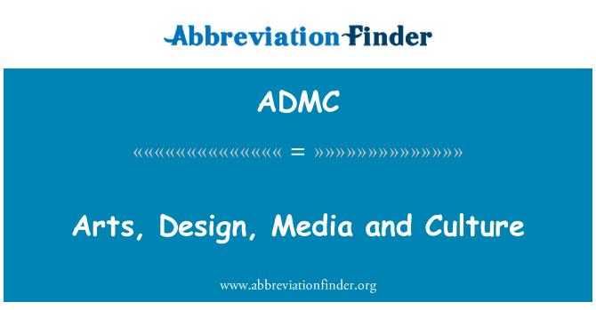 ADMC: Sanat, tasarım, medya ve kültür