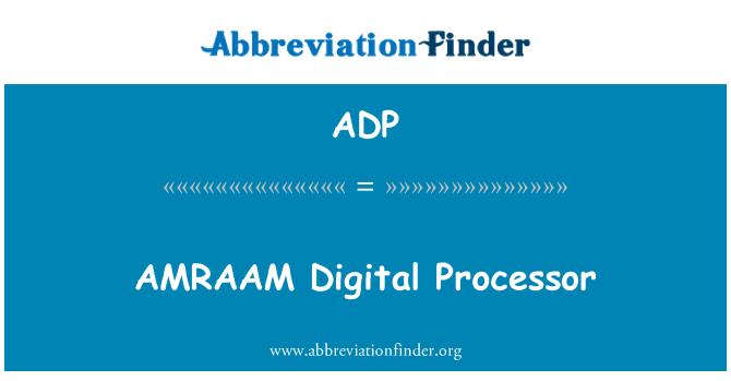 ADP: AMRAAM Digital Processor
