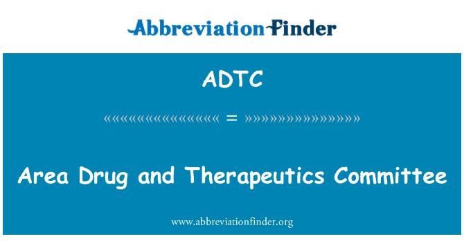 ADTC: Ala narkootikumide ja kergestikasutatavate ravimite komitee