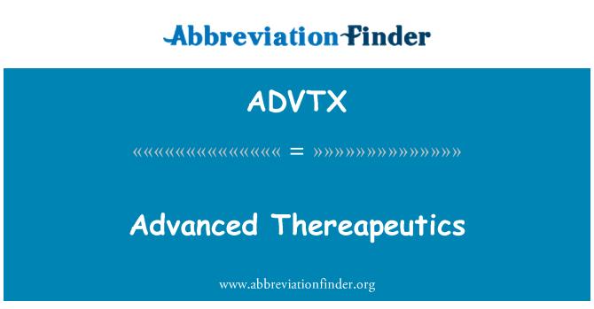 ADVTX: Advanced Thereapeutics