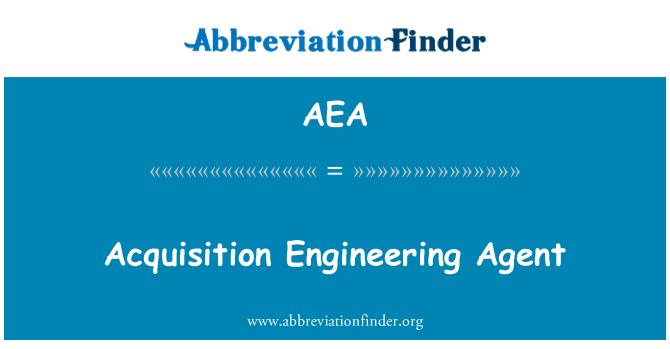 AEA: Acquisition Engineering Agent