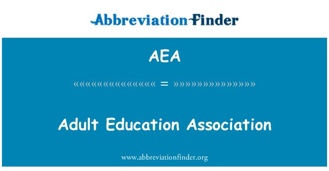 AEA: Adult Education Association