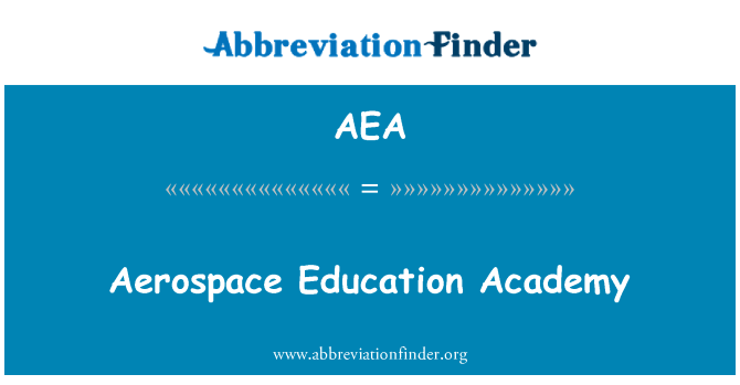 AEA: Aerospace Education Academy
