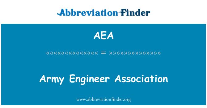 AEA: Army Engineer Association