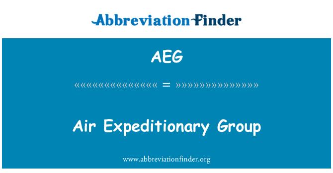 AEG: Air Expeditionary Group