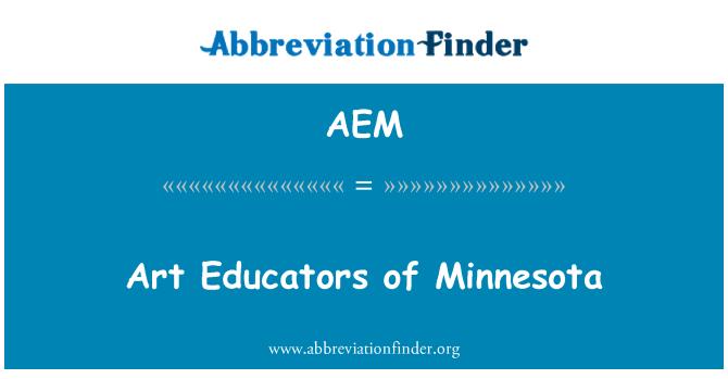 AEM: Arte educadores de Minnesota