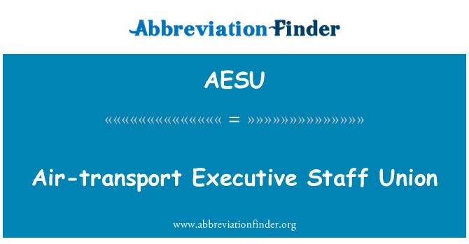 AESU: Air-transport Executive Staff Union