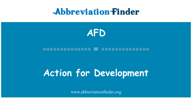 AFD: Action for Development