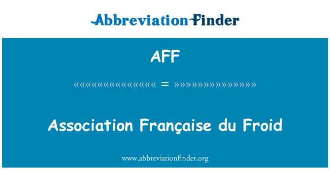 AFF: Association Française du Froid
