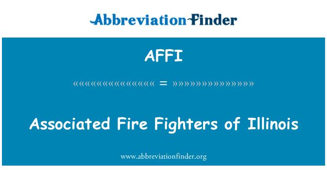 AFFI: Seotud tuletõrjujad Illinoisi