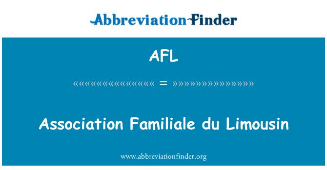 AFL: Association Familiale du Limousin