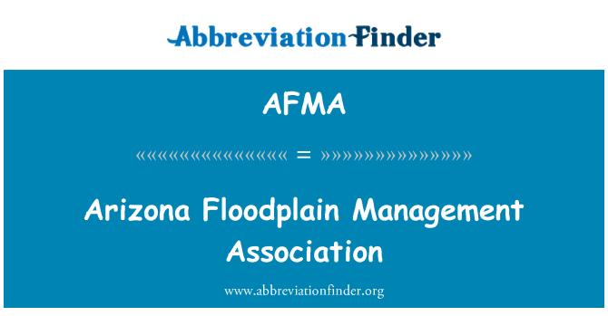 AFMA: Arizona Floodplain Management Association
