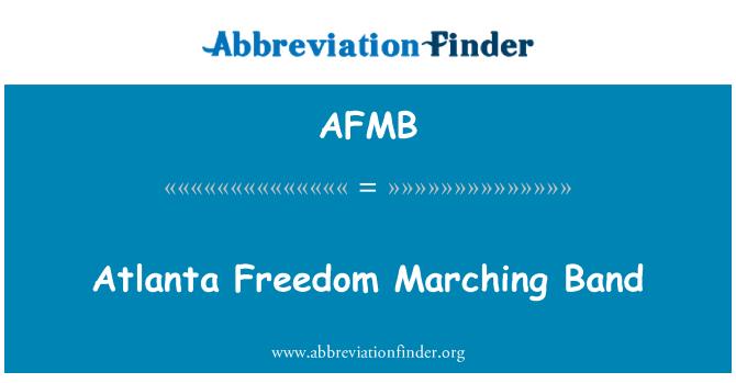 AFMB: Atlanta Freedom Marching Band