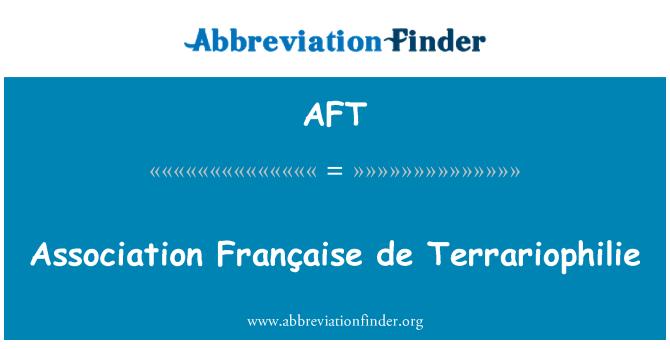 AFT: Asociación Française de Terrariophilie