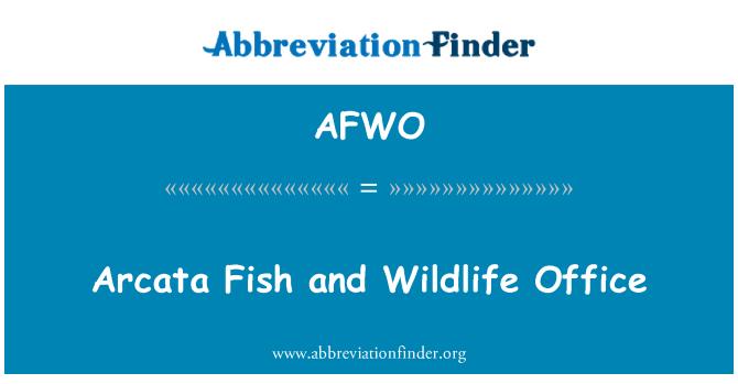 AFWO: Arcata Fish and Wildlife Office
