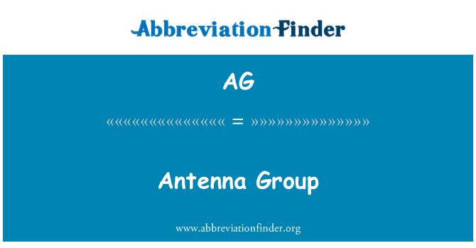 AG: Antenna Group