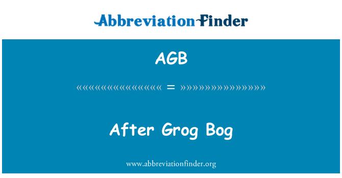 AGB: After Grog Bog