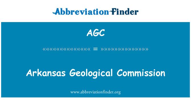 AGC: Arkansas Geological Commission