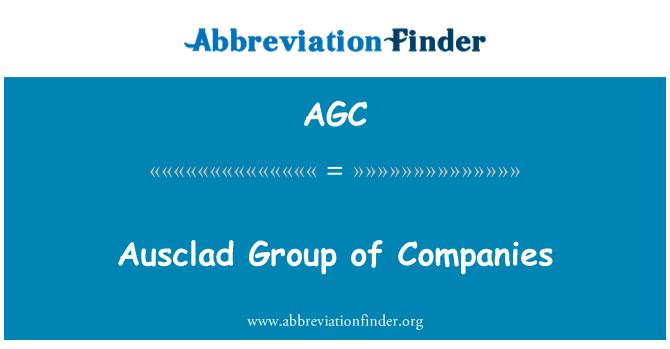 AGC: Ausclad Group of Companies