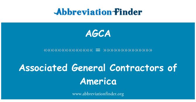 AGCA: Kontraktor am berkaitan Syarikat