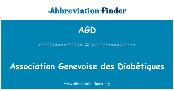 AGD: Association Genevoise des Diabétiques