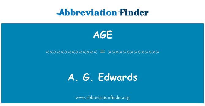 AGE: A. G. Edwards