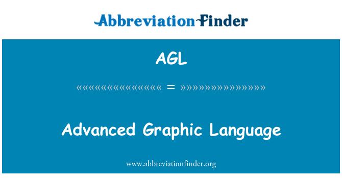 AGL: Advanced Graphic Language