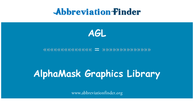 AGL: AlphaMask Graphics Library