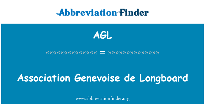 AGL: Association Genevoise de Longboard