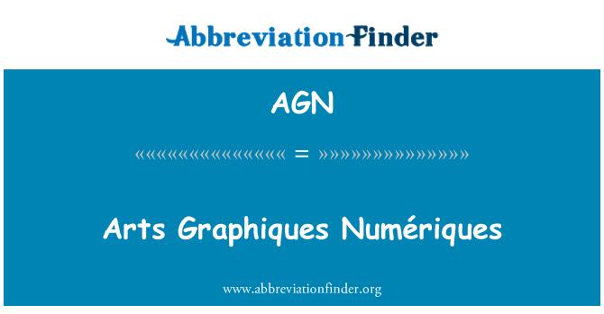 AGN: Arts Graphiques Numériques