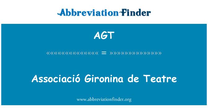 AGT: Associació Gironina de Teatre