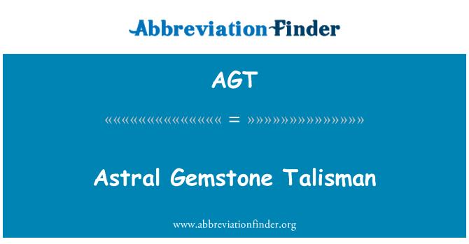 AGT: Astral Gemstone Talisman