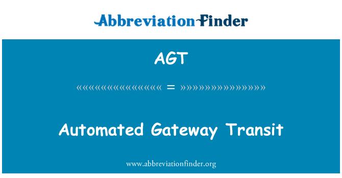 AGT: Automated Gateway Transit