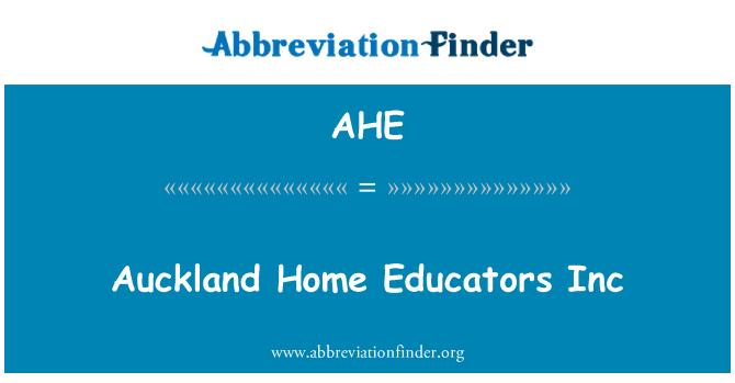 AHE: Auckland Home Educators Inc