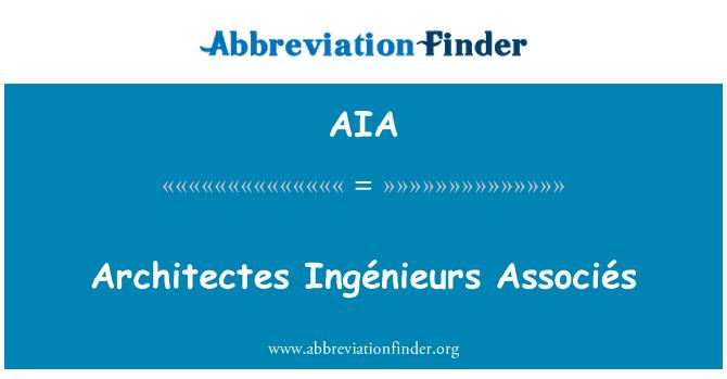 AIA: Architectes Ingénieurs Associés