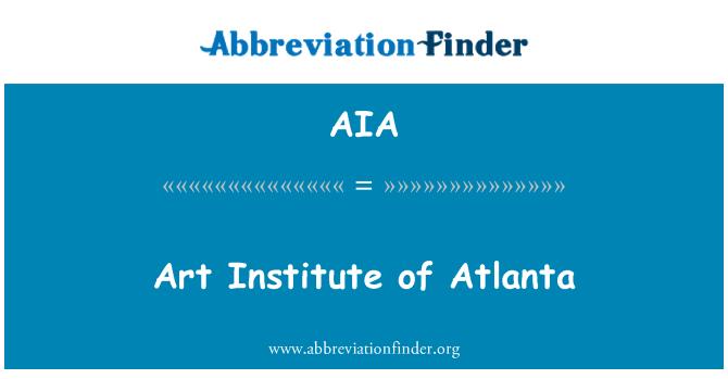 AIA: Art Institute of Atlanta