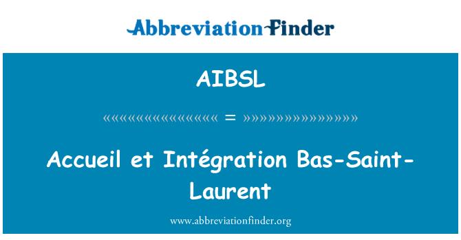 AIBSL: Accueil et Intégration Bas-Saint-Laurent