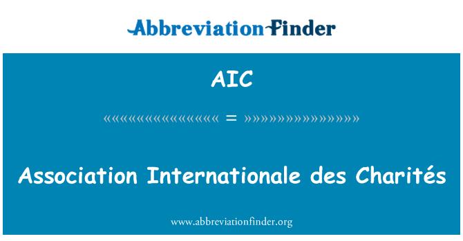 AIC: Association Internationale des Charités