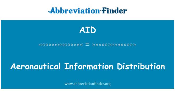 AID: Aeronautical Information Distribution